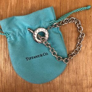 Authentic Tiffany & Co Silver Toggle Bracelet
